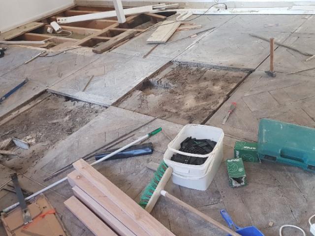 Rénovation intégrale de parquet
